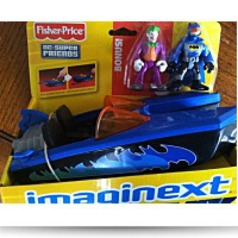Imaginext Super Friends Batboat And Figures