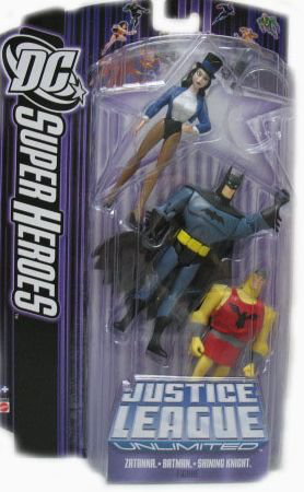 Justice League Dc Super Heroes: Batman, Shining Knight And Zatanna