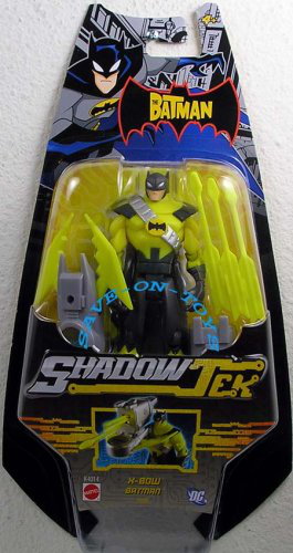 The Batman: Shadow Tek > X-bow Batman Action Figure